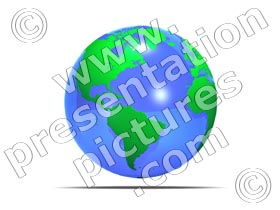 glass world - powerpoint graphics
